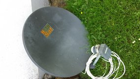 Satallite Dish, 70 cm in Spangdahlem, Germany