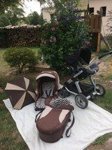 stroller with car Seat ABC Design Maxi Cosi in Ramstein, Germany