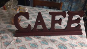 Cafe sign in MacDill AFB, FL