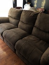 2 Brown Reclining Sofas & Chairs & Rug in The Woodlands, Texas