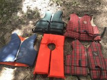 Life jackets in Cleveland, Texas
