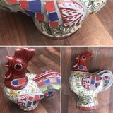 Ceramic Rooster in Conroe, Texas