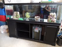 150 Gallon Aquarium  tank with stand and all accessories. in Fort Bragg, North Carolina