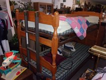 Maple Bunk Bed Set With Ladder in Fort Riley, Kansas