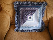 Quilted  Pillow (Log Cabin Pattern) in Naperville, Illinois