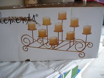 Fire Place Pillar Candle Stand in Naperville, Illinois
