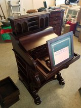 Gorgeous Unique Desk w Hidden Compartments, Gold Rings, Sterling Jewlery in Camp Lejeune, North Carolina