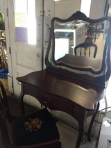 Antique Vanity with chair in Warner Robins, Georgia