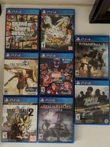 PlayStation 4 games in Hemet, California