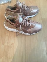 Women's Gold Huarache in Ramstein, Germany