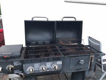 gas and charcoal grill with fryer in Ramstein, Germany