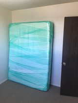 Queen Size Memory Foam Mattress & Bed Frame in Tacoma, Washington