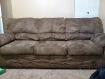 tan microfiber couch and loveseat in Fort Knox, Kentucky