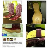 Dilgencia Cowboy Boots 9A in Lockport, Illinois
