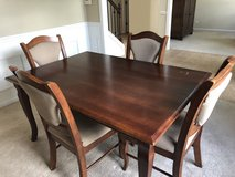 MOVING!- Dining Table & Four Chairs in Oswego, Illinois
