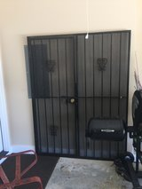 Iron patio security door in Warner Robins, Georgia