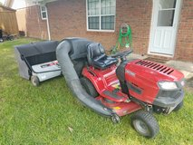 Riding Lawn Mower/Bager & Sweeper in Warner Robins, Georgia