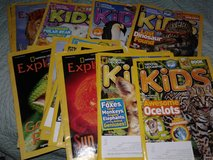Kids National Geographic magazines in Alamogordo, New Mexico