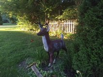 Cement Deer in Bolingbrook, Illinois
