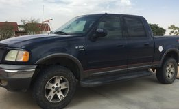 2002 Ford F-150 Kind Ranch Crew Cab FX4 in Yucca Valley, California
