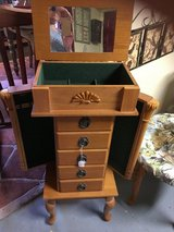 Jewelry box onLegs open top and sides in Conroe, Texas