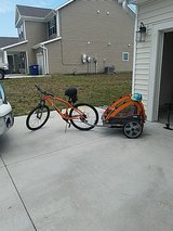 Bike and Baby Carrier in Fort Riley, Kansas