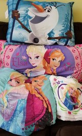 Frozen Twin Comforter, Sheets, 2 Pillows in Kingwood, Texas