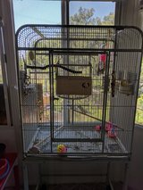 Parakeets cage and supplies in Camp Pendleton, California