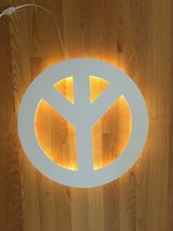 Peace Sign - Lights up in Bolingbrook, Illinois