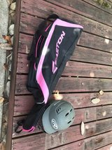 youth baseball bag and helmet in Kingwood, Texas