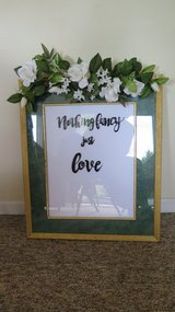 Wedding Welcome Sign in Schaumburg, Illinois