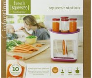 Squeeze Station for Purée in Oswego, Illinois