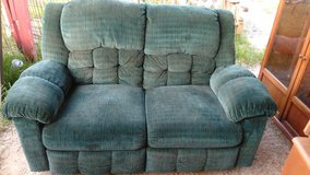 Loveseat with Recliners in Leesville, Louisiana