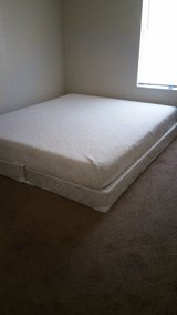 King Size Mattress With Box Spring in Fort Hood, Texas