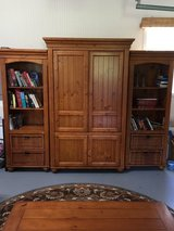 TV/ Entertainment Cabinet/Book Shelves in Cherry Point, North Carolina