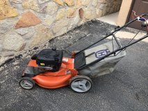 Lawn mower in Fort Bliss, Texas