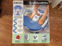 Homedics spa elite foot bath with massager in Warner Robins, Georgia