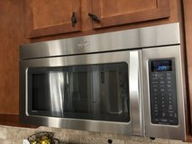 Whirlpool 2.0 cu. ft. over-the-range microwave oven in Byron, Georgia
