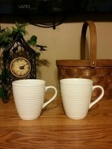 SET OF TWO WHITE GIBSON COFFEE CUPS in Fort Leonard Wood, Missouri
