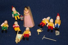 C. 1969 Snow White and Seven Dwarfs Cake Topper (Reduced) This Week 9/29-10/7 in Alamogordo, New Mexico