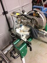 10 COMPOUND MITER SAW AND STAND in Tinley Park, Illinois