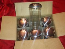 six new sugar shakers in box in The Woodlands, Texas