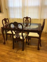 Dining room table with chairs in Quantico, Virginia
