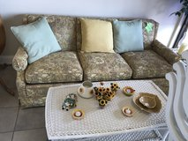 Patterned Sofa in Glendale Heights, Illinois