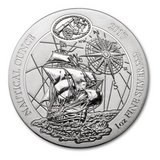 2017 Rwanda 1 oz Silver Nautical Ounce Santa Maria BU in Leesville, Louisiana