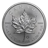 2018 Canada 1 oz Silver Maple Leaf BU in Leesville, Louisiana