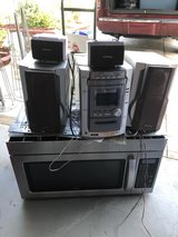 stereo set and microwave in Camp Lejeune, North Carolina