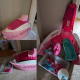 Barbie cruise ship yacht in Glendale Heights, Illinois