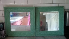 Beautiful mirrored green frames old time.pottery in Wilmington, North Carolina