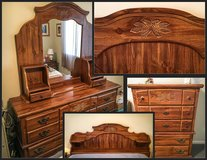 BEDROOM SET - Traditional Carved Design Motif in Glendale Heights, Illinois